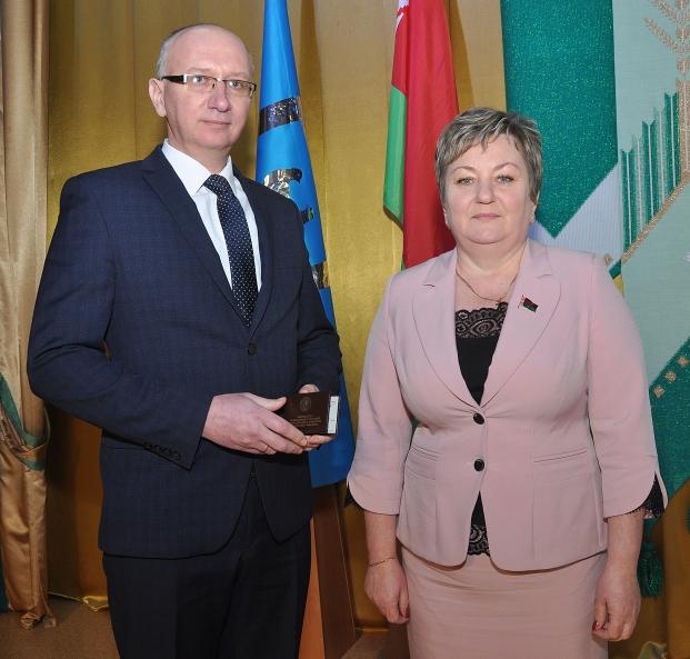 Бартош С.В. с помощником депутата Деюном Г.К.